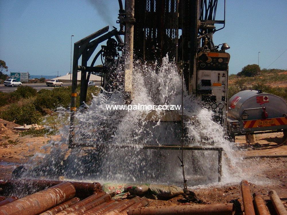 Borehole drilling services company in Harare Zimbabwe Palmer Construction